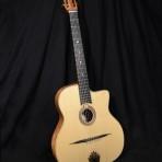 "Manouche guitar ""oval sound hole"" (petite bouche) Mod.  2014"